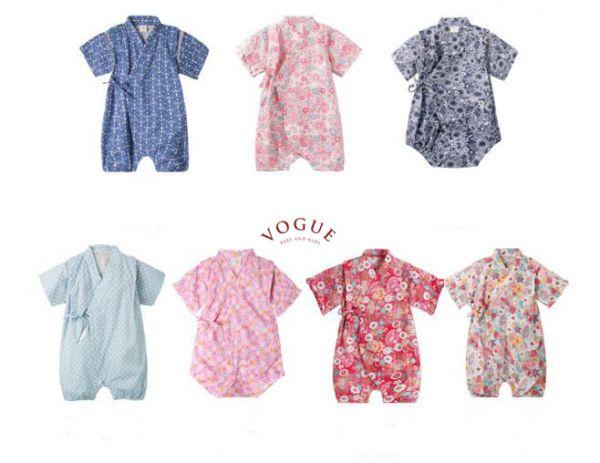 BV01068 春夏新款 舒適純棉寶寶和服浴衣 (7款)