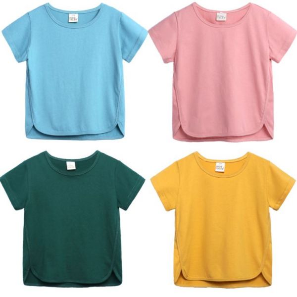BV01586 春夏新款 無印風寶寶舒適短袖上衣 (6色) 春,夏,新款,無印風,寶寶,舒適,短袖,上衣,