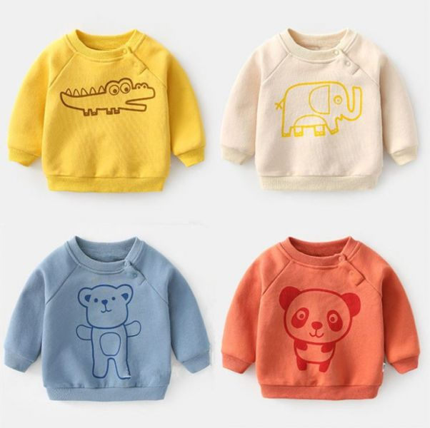 BV01618 秋冬新款 可愛動物寶寶圖案長袖上衣 (5色) 秋,冬,新款,可愛,動物,寶寶,圖案,長袖,上衣,