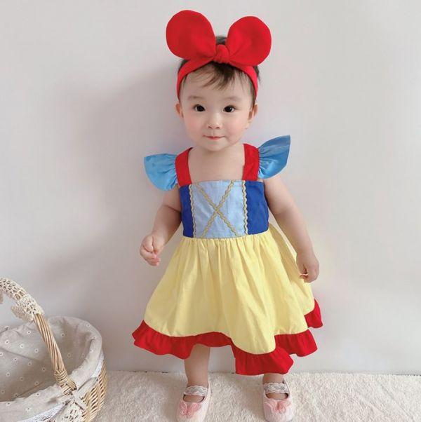 BV01579 寶寶變裝秀 白雪公主造型連身裙 寶寶,變裝秀,白雪公主,造型,連身裙,萬聖節,halloween,