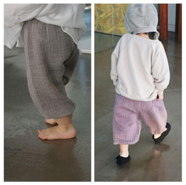 BV01633 秋冬新款 寶寶舒適透氣紗棉寬鬆長褲 (6色) 秋,冬,新款,寶寶,舒適,透氣,紗棉,寬鬆,長褲,