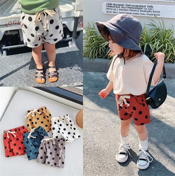 BV313 春夏新款 萌翻寶寶波點短褲 (5款) 春,夏,新款,萌,寶寶,波點,短褲,