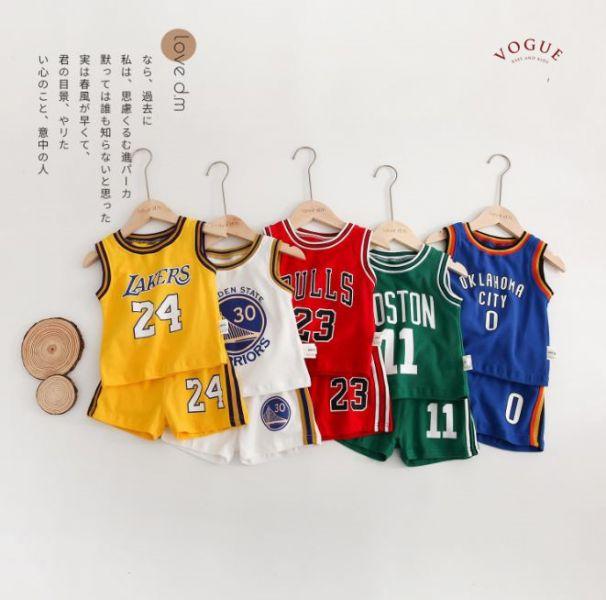 BV0298 春夏新款 寶寶NBA 籃球背心+短褲套裝 (5款) 春,夏,新款,寶寶,NBA,籃球,背心,短褲,套裝,