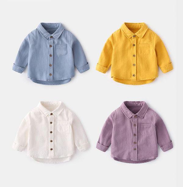BV01617 秋冬新款 超萌寶寶長袖襯衫 (4色) 秋,冬,新款,萌,寶寶,長袖,襯衫,