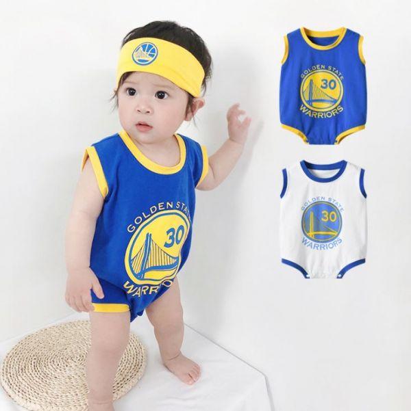 BV01578 春夏新款 寶寶運動員 NBA明星球衣包屁衣 春,夏,新款,寶寶,運動員,NBA,明星,球衣,包屁衣,