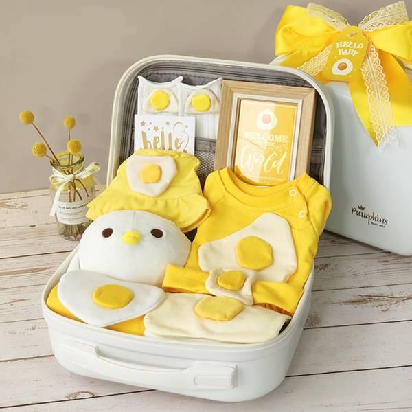 BV01592 寶寶禮盒 彌月周歲送禮 蛋黃BABY禮盒  寶寶,禮盒,彌月,周歲,送禮,