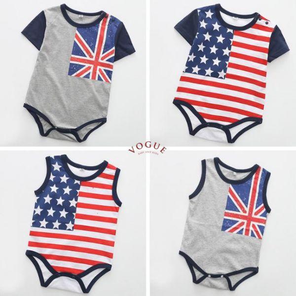 BV01093 春夏新款 時尚英國/美國 造型 短袖/無袖 包屁衣 (4款) 春,夏,新款,時尚,英國,美國,造型,短袖,無袖,包屁衣,