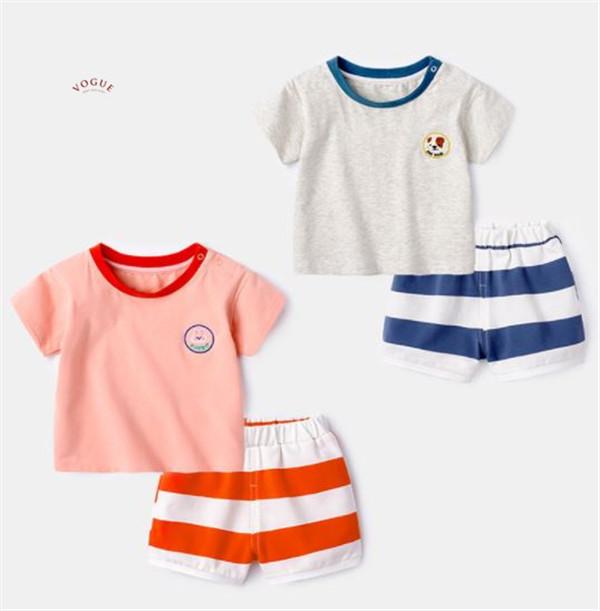 BV01533 春夏新款 純棉舒適短袖上衣+短褲 套裝 (3款) 純棉,舒適,短袖,上衣,短褲,套裝,