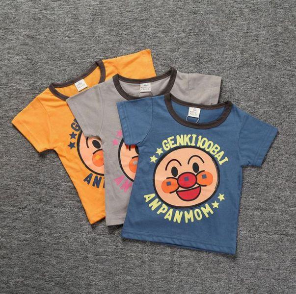 BV01583 春夏新款 寶寶大明星 麵包超人短袖上衣 (3色) 春,夏,新款,寶寶大明星,麵包超人,短袖,上衣,
