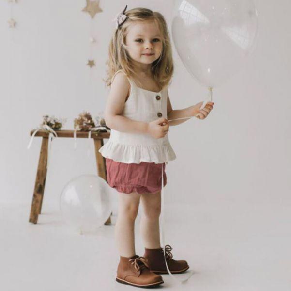 BV01607 春夏新款 歐美風小公主 無袖背心+褲 套裝 (4款) 春,夏,新款,萌,小公主,無袖,背心,褲,套裝,歐美風,