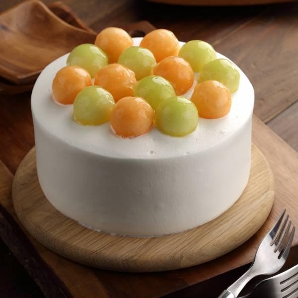 北海道生乳-哈密瓜蛋糕 生日蛋糕、人氣美食、團購美食、辦公室美食、小罐子招牌、台北美食