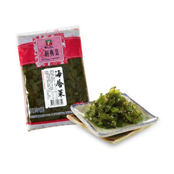 【榮祺】海唇菜(600克/包)全素 海唇菜,海帶,素食,來素購,素易購,素菜,素食網購