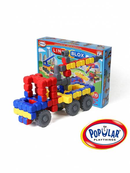 方塊聯結積木豪華組(126pcs) 美國PopularPlaythings,PopularPlaythings,PopularPlaythings台灣代理,PopularPlaythings獨家代理,PP,美國玩具,ABS玩具,邏輯玩具,磁性玩具專家,美國設計玩具,數學奧林匹克比賽專用,兒童玩具,安全玩具,益智玩具,空間認知玩具,親子互動玩具,安全無毒,想像力,積木,早教玩具,早教