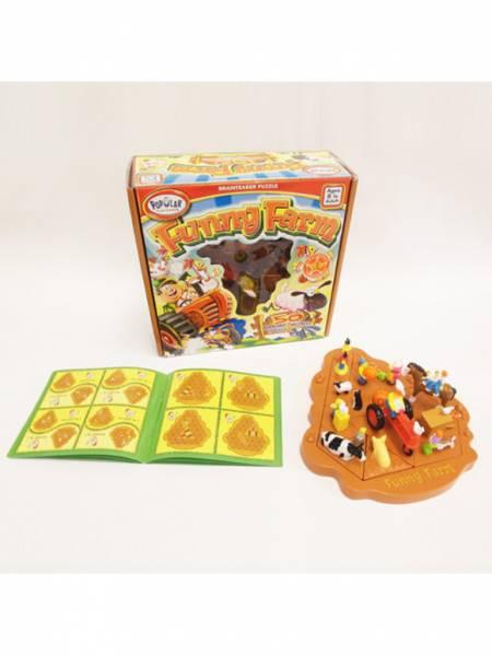 邏輯推理系列-歡樂農場 美國PopularPlaythings,PopularPlaythings,PopularPlaythings台灣代理,PopularPlaythings獨家代理,美國玩具,ABS玩具,邏輯玩具,磁性玩具專家,美國設計玩具,數學奧林匹克比賽專用,兒童玩具,安全玩具,益智玩具,空間認知玩具,親子互動玩具,安全無毒,想像力,拼圖,積木,早教,早教玩具