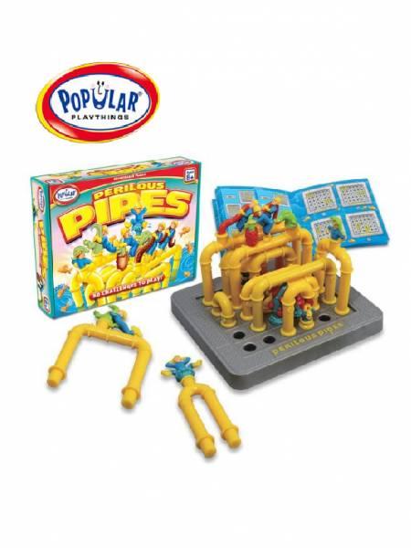 邏輯推理系列-水管維修工 美國PopularPlaythings,PopularPlaythings,PopularPlaythings台灣代理,PopularPlaythings獨家代理,美國玩具,ABS玩具,邏輯玩具,磁性玩具專家,美國設計玩具,數學奧林匹克比賽專用,兒童玩具,安全玩具,益智玩具,空間認知玩具,親子互動玩具,安全無毒,想像力,早教,早教玩具