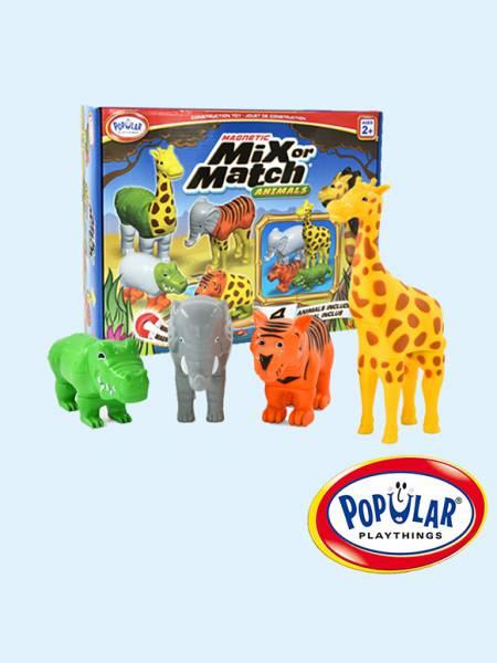 磁性動物總動員-叢林組 美國PopularPlaythings,PopularPlaythings,PopularPlaythings台灣代理,PopularPlaythings獨家代理,美國玩具,ABS玩具,邏輯玩具,磁性玩具專家,美國設計玩具,數學奧林匹克比賽專用,兒童玩具,安全玩具,益智玩具,空間認知玩具,親子互動玩具,安全無毒,想像力,早教,早教玩具,動物玩具,認知能力
