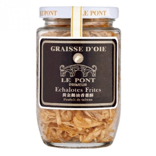 黃金鵝油香蔥酥【黑標版】 樂朋,黃金鵝油香蔥酥,鵝油,橋邊,鵝油
