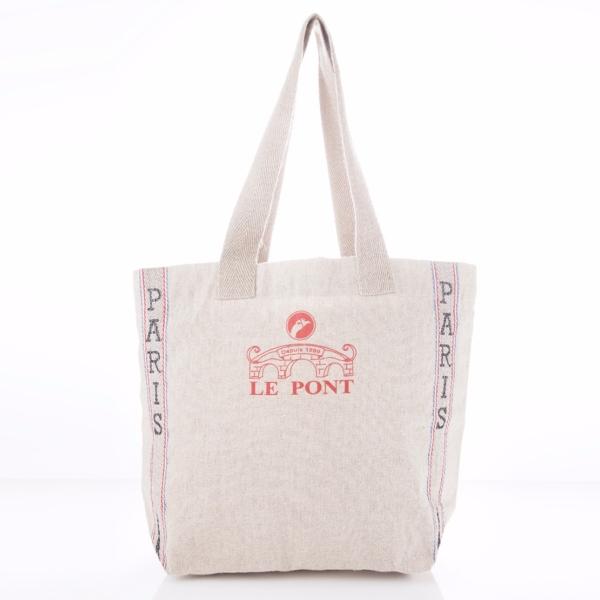 LE PONT SAC 9 樂朋,提包,亞麻,棉麻,限量,法國,Bon Appetit