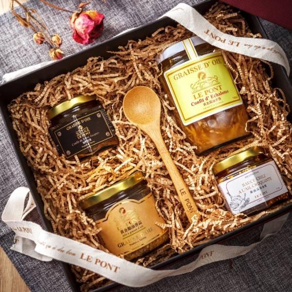 Bordeaux 城市禮盒_發現樂朋系列 樂朋,鵝油,黃金鵝油香蔥,橋邊,紅蔥頭,古早味