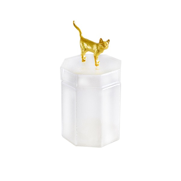 BonChic animal 玻璃收納罐 貓咪