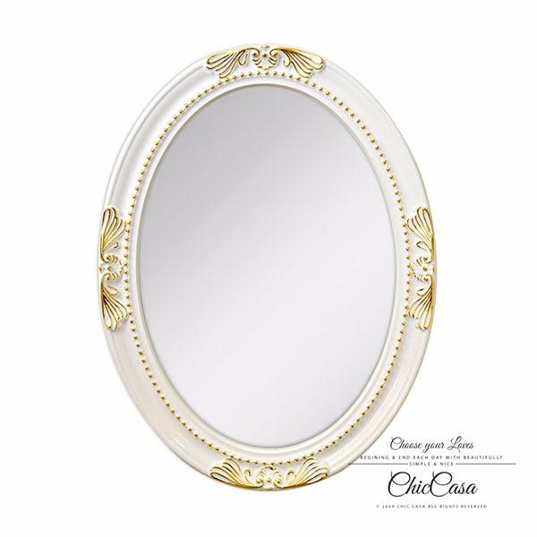 安娜貝橢圓金箔掛鏡 白描金 玄關鏡,浴室鏡,開店,化妝鏡,掛鏡