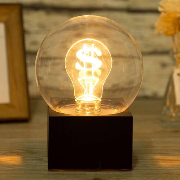 新思維夜燈 滿富 / 遙控款 收銀,櫃檯,招財,夜燈,桌燈,檯燈,氣氛,燈飾,創意,造型,禮物