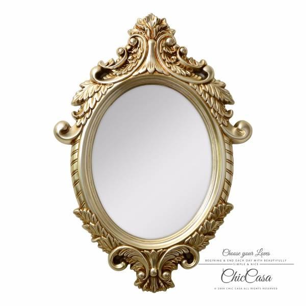 克羅克特立體雕花金箔掛鏡 復古銀 玄關竟,浴室鏡,開店,化妝鏡,掛鏡