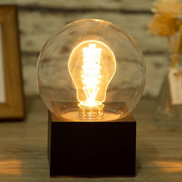 新思維夜燈 靈感 / 遙控款 燈泡,收銀,櫃檯,招財,夜燈,桌燈,檯燈,氣氛,燈飾,創意,造型,禮物