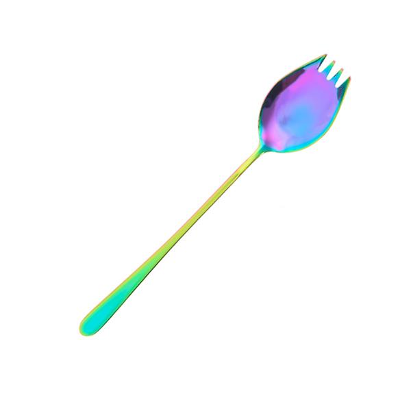 Hampton鈦鋼叉勺 炫彩