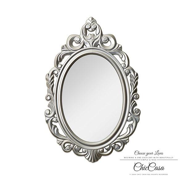 愛莉緹手工雕花鏤空壁掛鏡 時尚銀 玄關竟,浴室鏡,開店,掛鏡,古典