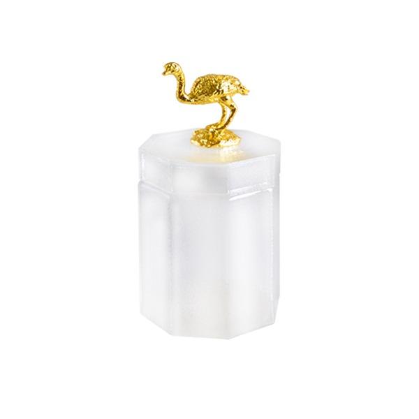 BonChic animal 玻璃收納罐 鴕鳥