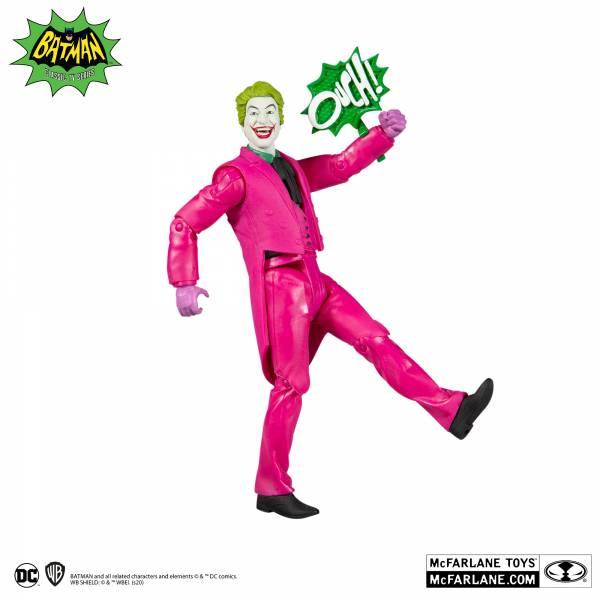 McFarlane Toys 麥法蘭 6吋 DC  RETRO 1966 小丑 可動完成品 McFarlane Toys,麥法蘭,6吋,DC, RETRO,1966,小丑,可動完成品,
