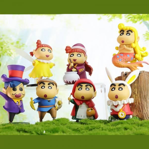 52TOYS 盒玩 蠟筆小新童話系列 全6款+1隱藏 一中盒6入販售  52TOYS,盒玩,蠟筆小新,童話系列,全6款+1隱藏,一中盒6入販售,