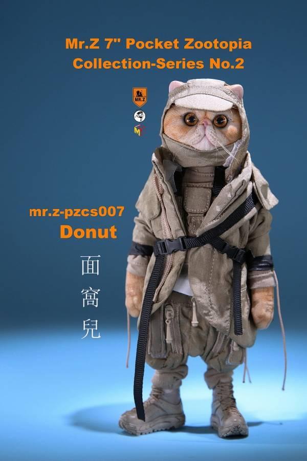 Mr.Z 口袋動物城系列 第二彈 貓咪麵窩兒 Mr.Z,老朱,口袋動物城系列,第二彈,貓咪麵窩兒