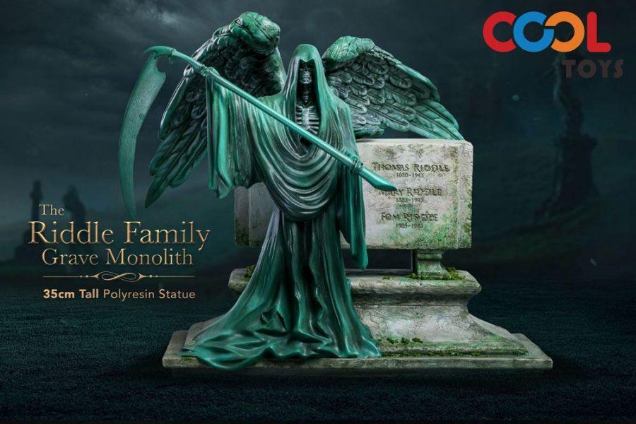 Cool Toys 哈利波特 佛地魔 瑞斗家族墓碑 Polyresin Ver. 雕像 Riddle Family Grave Monolith statue  Cool Toys,哈利波特,佛地魔,瑞斗家族墓碑,Polyresin,Ver. Riddle Family Grave Monolith statue,