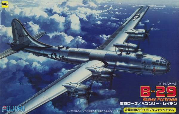 1/144 B-29 Super Fortress 空中堡壘 Tokyo Rose/Heavenly Laden FUJIMI 1445 富士美 組裝模型 FUJIMI,1/144,144,B-29,FORTRESS,DAUNTKESS,DOTTY,