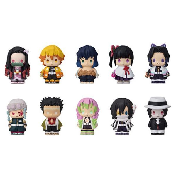 ENSKY 鬼滅之刃 puppet mascot 軟膠指偶P2 全10種 一中盒10入販售 ENSKY,鬼滅之刃,puppet mascot,軟膠指偶,P2,全10種 一中盒10入販售,
