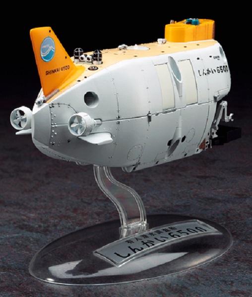 HASEGAWA 1/72 有人潛水調船 深海6500 深潛器 推進器改造型2012 組裝模型 HASEGAWA,1/72,有人潛水調船 深海6500,推進器改造型2012