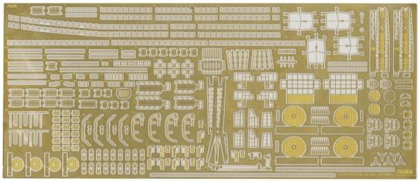 1/700 重巡洋艦 利根 蝕刻片 + 兩片式25mm機砲 FUJIMI 特30EX1 日本海軍 富士美 組裝模型 FUJIMI,1/700,GUP,日本海軍,重巡洋艦,利根,蝕刻片,木甲板,兩片式,25mm機砲,