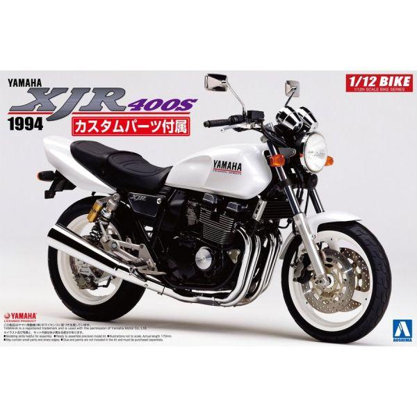 AOSHIMA 1/12 Yamaha 山葉 XJR400S 1994 含改裝零件 組裝模型 AOSHIMA,青島社,1/12,山葉,Yamaha XJR400S