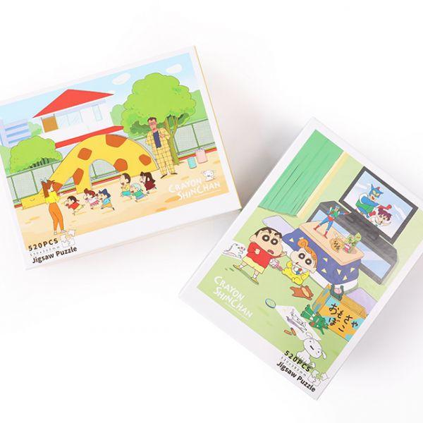 Norns 蠟筆小新 520片拼圖 全兩款 分別販售 Norns,蠟筆小新,520片,拼圖,全兩款,分別販售,