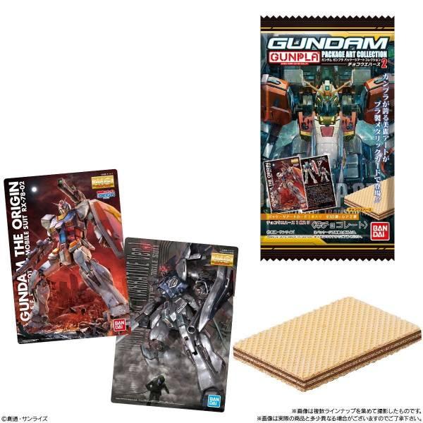 BANDAI 盒玩 機動戰士鋼彈 盒繪 收藏卡第二彈 全32種 隨機10抽販售 *10 BANDAI,鋼彈,GUNPLA,包裝,盒繪,巧克力威化餅2,第二彈