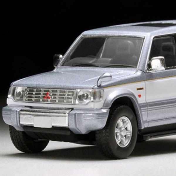 TOMYTEC 1/64 三菱MITSUBISHI Pajero Super Exceed Z 銀白 LV-N189a  TOMYTEC,1/64,三菱,MITSUBISHI Pajero Super Exceed Z 銀白 LV-N189a