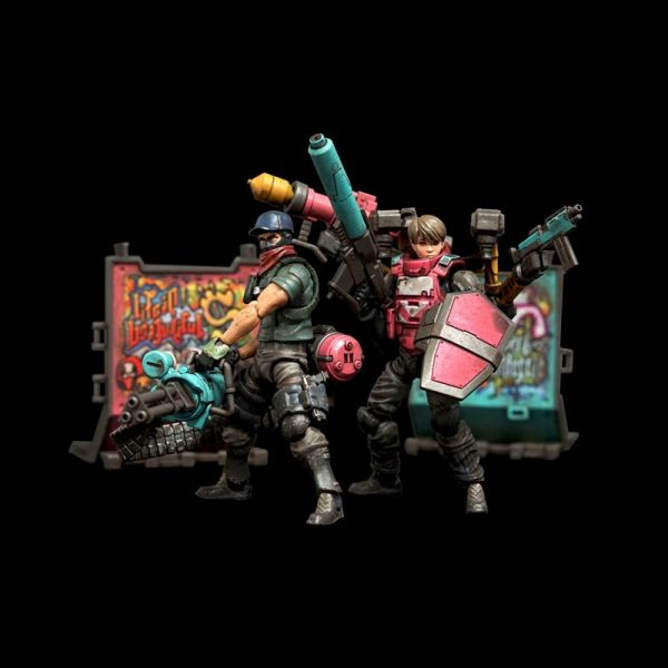 Toys Alliance 1/18 酸雨戰爭 FAV-AP04 縱情狂歡 霓虹武器包 Toys Alliance,1/18,酸雨戰爭,FAV-AP04,縱情狂歡,霓虹武器包