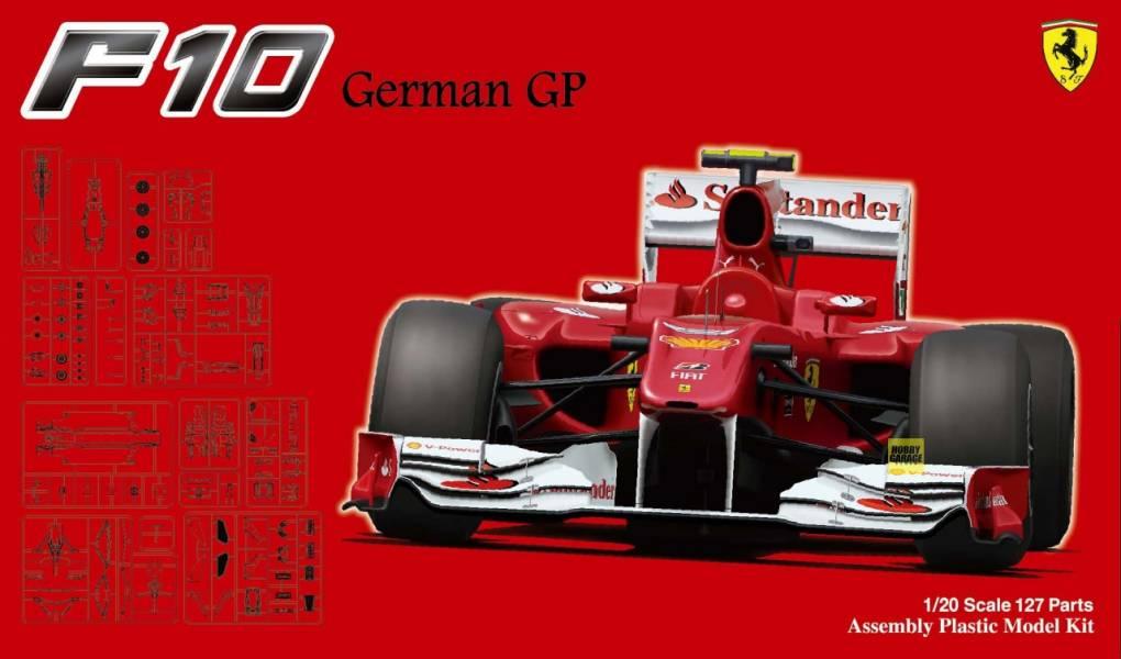 1/20 Ferrari F10 德國GP FUJIMI GP41 富士美 組裝模型 FUJIMI,1/20,PIT,GP,Ferrari.F10.德國.GP,