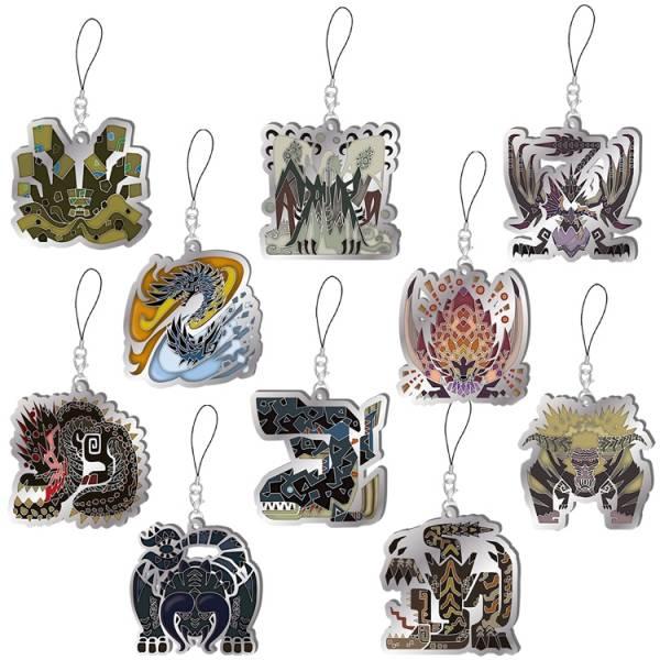 CAPCOM 魔物獵人世界 Iceborn 魔物代表圖像吊飾Vol.3 全10種 一中盒販售 CAPCOM,魔物獵人 世界 Iceborn,魔物代表圖像吊飾Vol.3