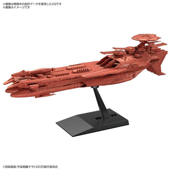 BANDAI 機體收藏集 宇宙戰艦大和號2205 德斯拉號三世 組裝模型  BANDAI,機體收藏集,宇宙戰艦大和號,2205,德斯拉號三世,組裝模型,