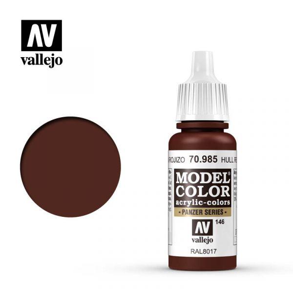 Acrylicos Vallejo AV水漆 模型色彩 Model Color 146 #70985 機身紅色 17ml Acrylicos Vallejo,AV水漆,模型色彩,Model Color,146, #,70985,機身紅色,17ml,
