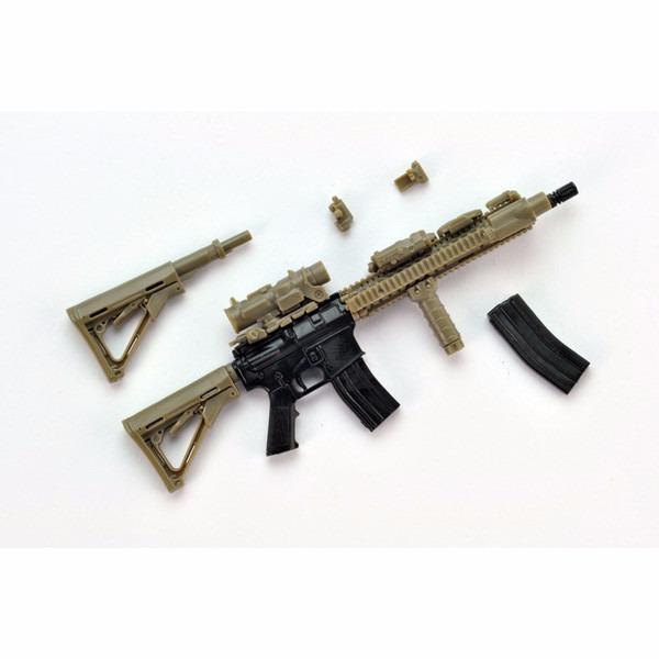 TOMYTEC 1/12 迷你武裝 LA037 M4A1SOPMOD BLOCK2 Tomytec,1/12,迷你武裝,LA037,M4A1 SOPMOD BLOCK2 TYPE