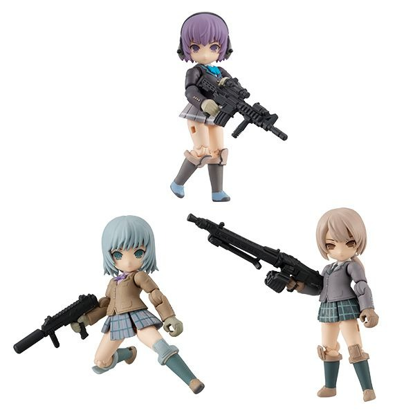 MEGAHOUSE DESKTOP ARMY LITTLE ARMORY 迷你武裝 Vol.1 全3種 一中盒3入販售 *3 百萬屋,MEGAHOUSE,DESKTOP,ARMY,LITTLE,ARMORY,迷你武裝